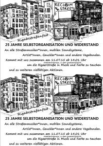 Flyer für Straßenmusiker_innen